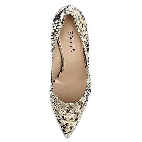 Evita Shoes, Scarpe col tacco donna Marrone (Fango)