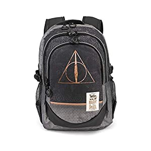 4155SUVdw4L. SS300  - Karactermania Harry Potter Deathly Hallows - Mochila Tipo Casual, Multicolor, 44 cm