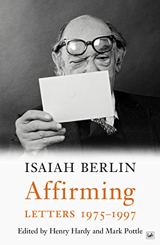 Affirming: Letters 1975-1997 (English Edition)