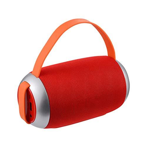 Nourich TG112 Bluetooth Außenlautsprecher Wasserdicht Tragbare Kabellose Spalte No Noise, Bass Lautsprecher Box TF-Karte FM Radio Aux Inpu
