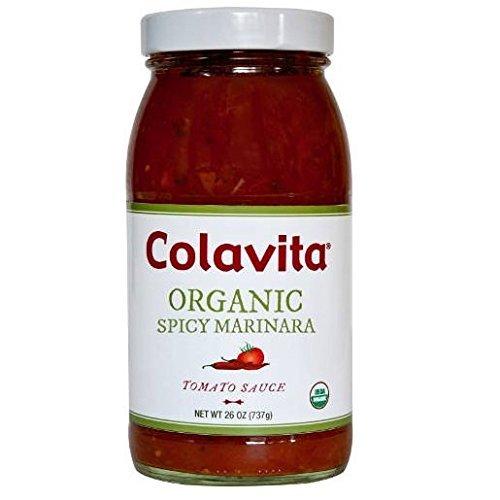 colavita-bca33263-organic-spicy-garlic-marinara-sauce-6-x-25-oz-by-colavita