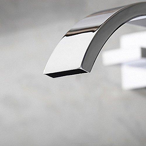 Preisvergleich Produktbild HONGLONG Badezimmer Waschbecken wasserhahn Wandhalterung Zeitgenössische verbreitete Design Badezimmer Waschbecken Wasserhahn