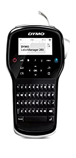 Dymo S0968960 Label Manager 280 Handheld Label Maker Qwerty Keyboard (with UK Plug) Black (B00AOHBRJM) | Amazon price tracker / tracking, Amazon price history charts, Amazon price watches, Amazon price drop alerts