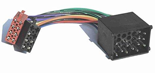 Adapter-Universe® 1080  - Cavo connettore adattatore per Autoradio DIN ISO, per BMW Serie 3 e 5, Z3, E34, E36, E46, E39
