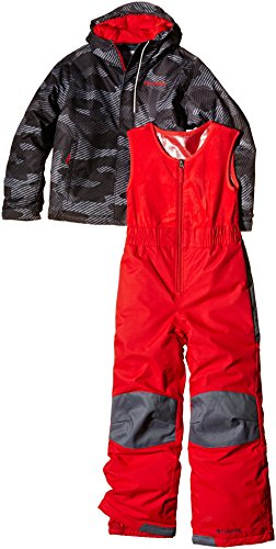 Columbia bébé neige thermique Multicolore schwarz - Black/Camouflage Größe 6/12