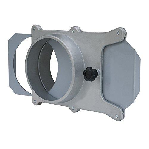 POWERTEC Aluminium 70227Blast Tor, 15,2cm