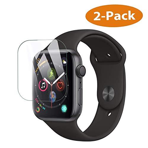 Hotbon Panzerglas Schutzfolie für Apple Watch Series 4 40mm,Panzerglas für Apple Watch Series 4 40mm,9H Härte Schutzfolie HD Panzerglasfolie 2.5D Displayschutzfolie Anti-Kratzen Anti-Öl [2 Stück]