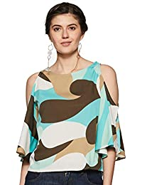 d5a40938499468 ... Off shoulder tops. Harpa Turquoise Women s Top (GR3747-TURQ)