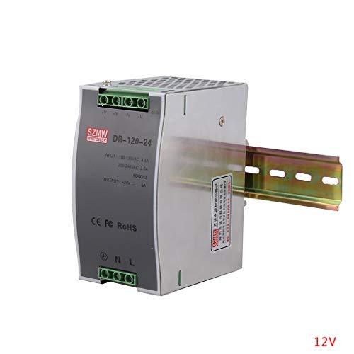 Morza DR-120 Überspannungsschutz DIN-Schiene Einfachausgang Schaltnetzteil DC-Wandler Stromversorgung -