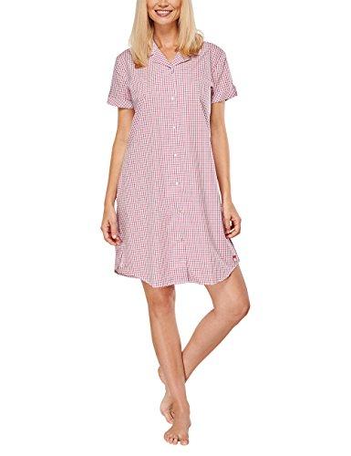 Seidensticker - Seidensticker Sleepshirt 1/2 Arm, Camicia da notte Donna Rosso (pink 504)