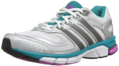 adidas Performance Response Cushion 22 W Q21395 Damen Laufschuhe, Weiß (RUNNING WHITE FTW / NIGHT MET. F13 / BLAST EMERALD F13), EU 36 2/3 (UK 4)