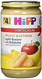 Hipp Frucht & Getreide, Apfel-Banane mit Babykeks, 1er Pack (1 x 250g)