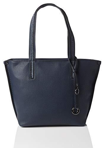 Gabor Shopper Damen Cosima, Blau (Blau), 13x30x38 cm, Tasche Damen