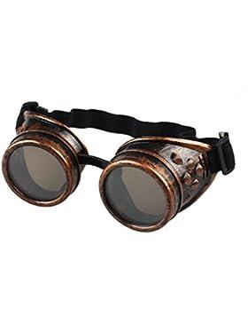 zolimx Estilo vintage Steampunk gafas soldadura gafas Punk divertidos