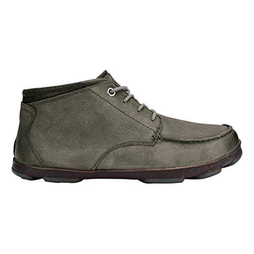 Olukai Hāmākua à chaussures–pour Homme Stormy Grey/Dark Wood