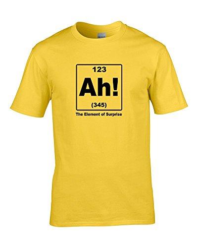 Ice-Tees -  T-shirt - Colletto crew  - Maniche corte - ragazzo Yellow 3-4 Anni