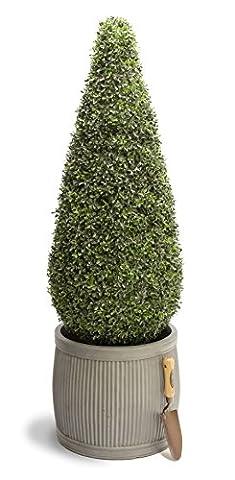 120cm Artificial Topiary Tea Grass Cone By Primrose®