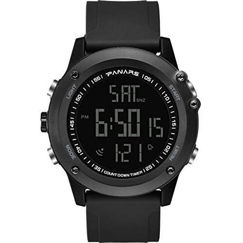 Youdong Montre de Sport à la Mode avec Montre électronique à 50 mètres, Calendrier étanche Montre GPS Sport connectée Smartwatch pour Homme Podometre Cardio Etanche Sport Smart Watch