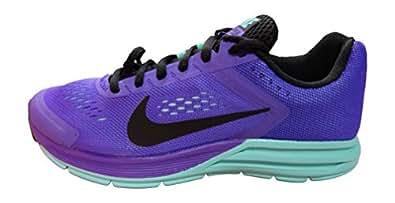 Nike Women's Wmns Zoom Structure+ 17 Running Shoes, Purple (Hyper Grape / Black-Hyper Turq), 3.5 UK