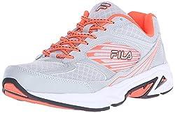 Fila Women s Inspell 3 running Shoe Highrise/Fiery Coral/Black 9.5 B(M) US