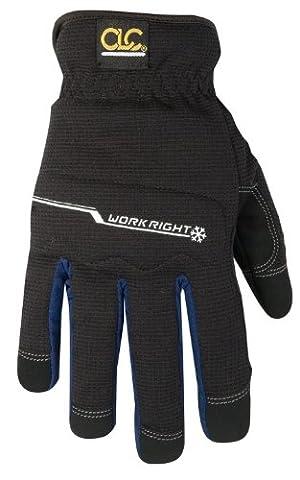 Kuny's L123XL Workright Winter Flexgrip Gloves, Lined, Size 11,