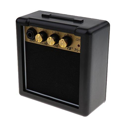 Homyl 5-Watt E Gitarren-Verstärker Gitarre Bass Praxis Amp Verstärker Lautsprecher