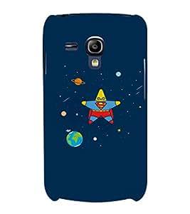 EPICCASE Space star Mobile Back Case Cover For Samsung Galaxy S3 Mini (Designer Case)