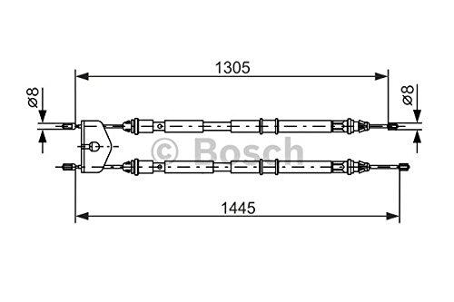 Preisvergleich Produktbild Bosch 1987477732 Bremsseil
