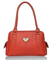 Fantosy Women's Handbag (Red) (FNB-375)