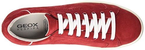 Geox Herren U Warrens B Low-top Rot (redc7000)