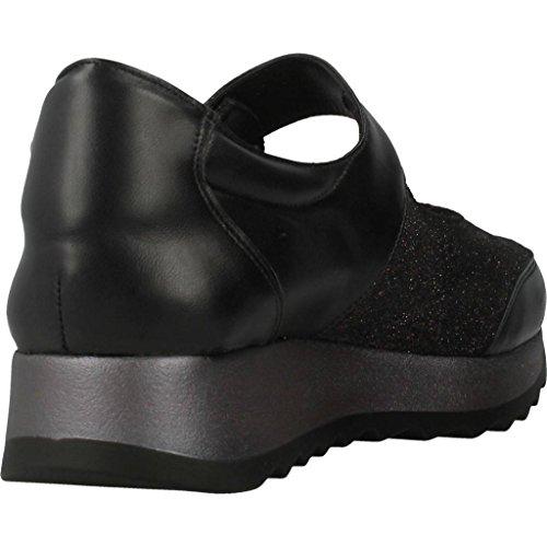 Lacets Pour Femmes, Couleur Noir, Marque Trimas Menorca, Modèle Lacets Chaussures Pour Femmes Trimas Menorca 1281t Noir Noir