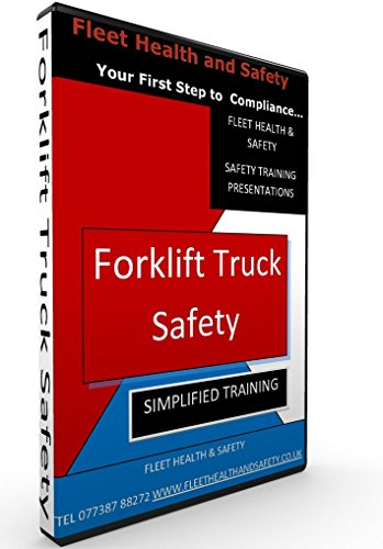 Forklift Safety Training Presentation INCL FREE BOOKLET