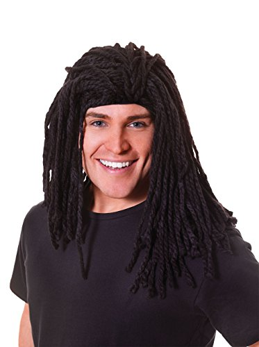 Rasta. Long Ruud Gullit Accessory Fancy Dress (Rasta Kostüm Ideen)