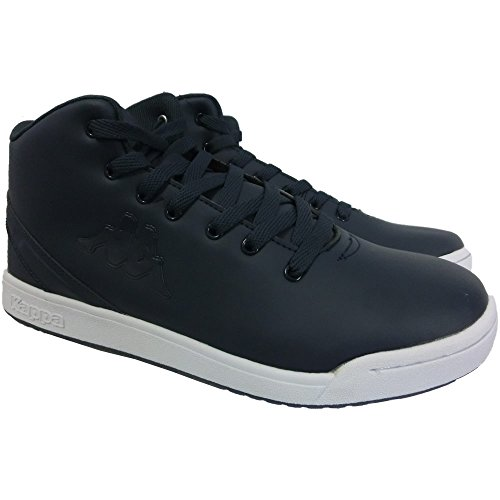 Kappa scarpe sportive 0238 - Sneaker da Ginnastica Unissex in pelle, Blu (43)