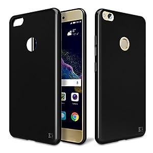 KingShark UltraSlim Transparent Hülle für Huawei P8 Lite 2017 Silikon Schutzhülle Case Cover