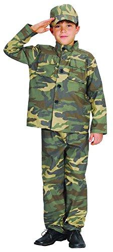 Disfraz de soldado para niño