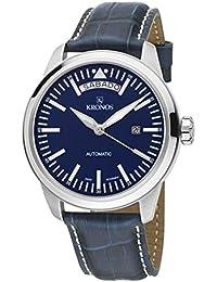 ba50433ac46a KRONOS - Pilot Automatic Day Date Blue K006.65 - Reloj de Caballero  automático
