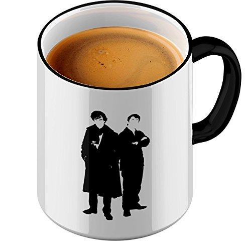 Tasse Sherlock and Watson