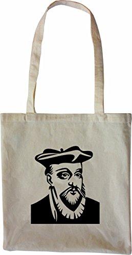 Schwarz Natur Nostradamus Merchandise Tasche Farbe Stofftasche Mister 7wO4XSq7
