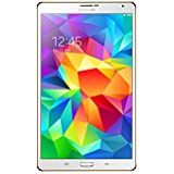 """Samsung Galaxy Tab S Tablette tactile 8,4"""" (21,34 cm) Blanc (16 Go, Androïd KitKat 4.4, Wi-Fi + 4G LTE)"""