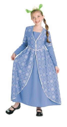 nzessin Fiona Kostüm für Kinder Karneval Verkleidung Small (Kinder Prinzessin Fiona Kostüm)