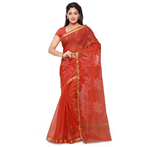 Rajnandini Cotton Saree (Joplsrs1081C_Orange)