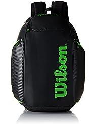 Wilson Vancouver Backpack Mochila, Unisex Adulto, Negro / Verde (Black / Green), Talla Única