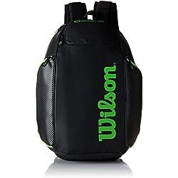 Wilson Vancouver Backpack Mochila, Unisex Adulto, Negro/Verde (Black/Green), Talla Única