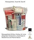 Reiseapotheke von Apotheken-Express (M-Size) 8-teilig inkl. einer Handcreme o. Duschbad von Pharma Nature