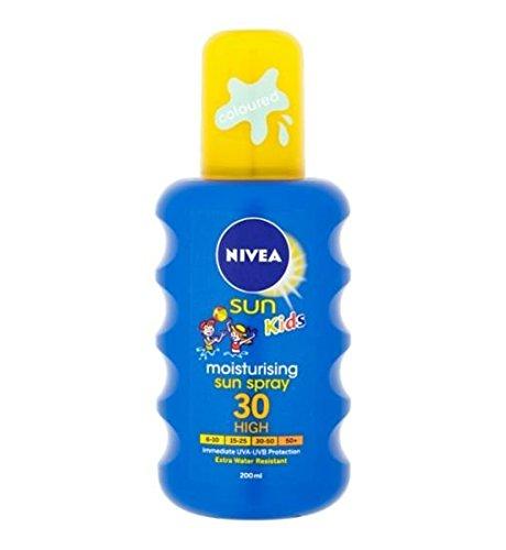 Nivea Sun Kids Coloured Moisturising Sun Spray SPF30 200 ml