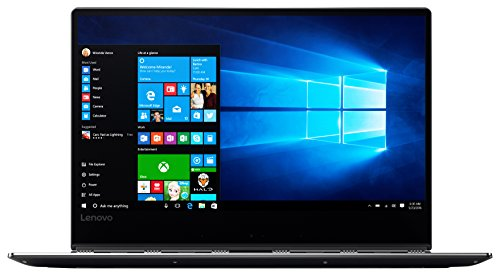 Lenovo Yoga 910 35,3 cm (13,9 Zoll Full HD IPS Multi-Touch) Slim Convertible Notebook (Intel Core i7-7500U, 16GB RAM, 1 TB SSD, Intel HD Grafik 620, Windows 10 Home) grau