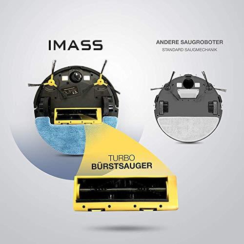 IMASS Saugroboter mit Wischfunktion A3 Perfect Clean Bild 6*