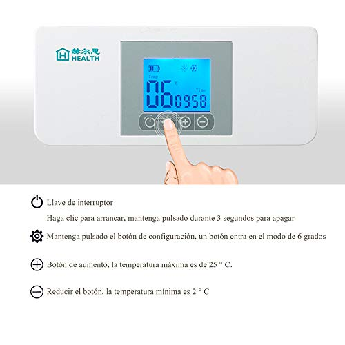 4155pmFGp L - MaquiGra Nevera Portátil para Medicamento Nevera Inteligente para Coche Refrigerador de Medicina Mini Caja de insulina Semiconductor Refrigerador de Coche Viaje Hogar(2-8℃) Temperatura Constante