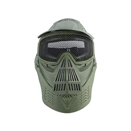 Tree-on-Life PC Objektiv Airsoft Maske Gesicht Mesh Maske Leichte Jagd Tactical Outdoor Schutz CS Halloween Party Radfahren Gesichtsmaske
